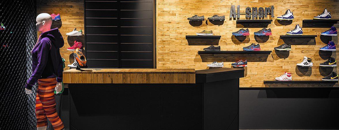 Mobiliario para tiendas mostrador | Muebles de oficina Spacio