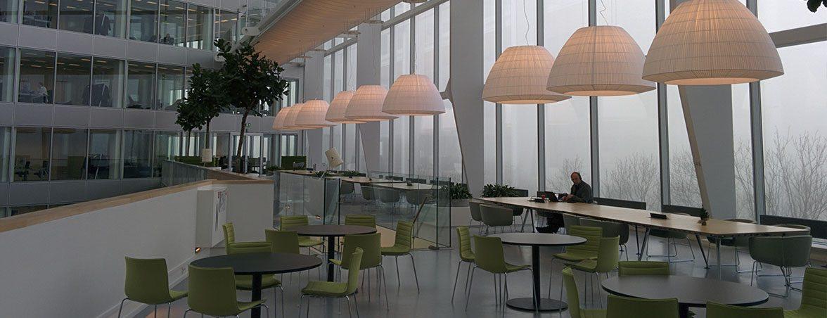 Oficinas inteligentes cafetería | Muebles de oficina Spacio