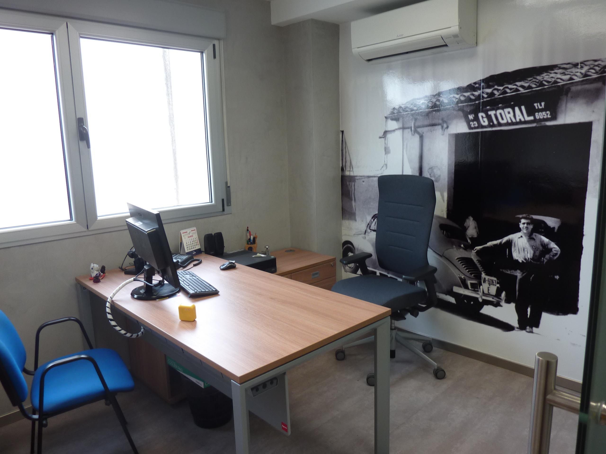 Proyecto oficinas Toral sala dirección | Muebles de oficina Spacio