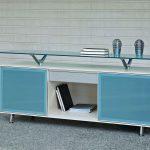 Armario oficina Block con cristal azul | Muebles de oficina Spacio