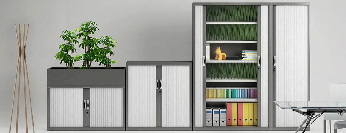 Armario persiana NG portada | Muebles de oficina Spacio