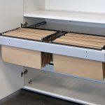 Armarios modulares Arlam detalle carpetero | Muebles de oficina Spacio