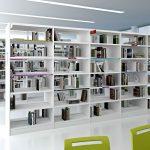 Estanterías de madera Class biblioteca | Muebles de oficina Spacio