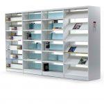 Estanterías de madera Class blanca | Muebles de oficina Spacio