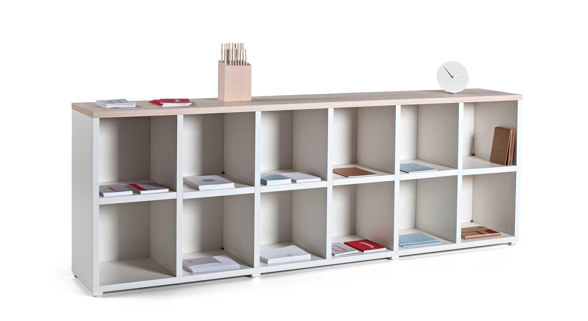 Estanter as modulares cubic muebles de oficina spacio - Estanterias metalicas modulares ...