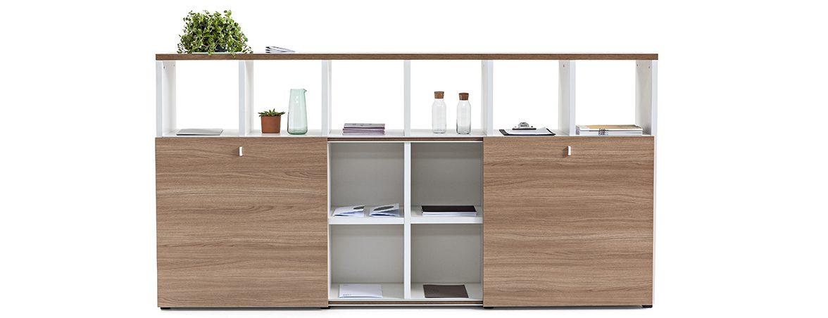 Estanterías modulares Cubic portada | Muebles de oficina Spacio