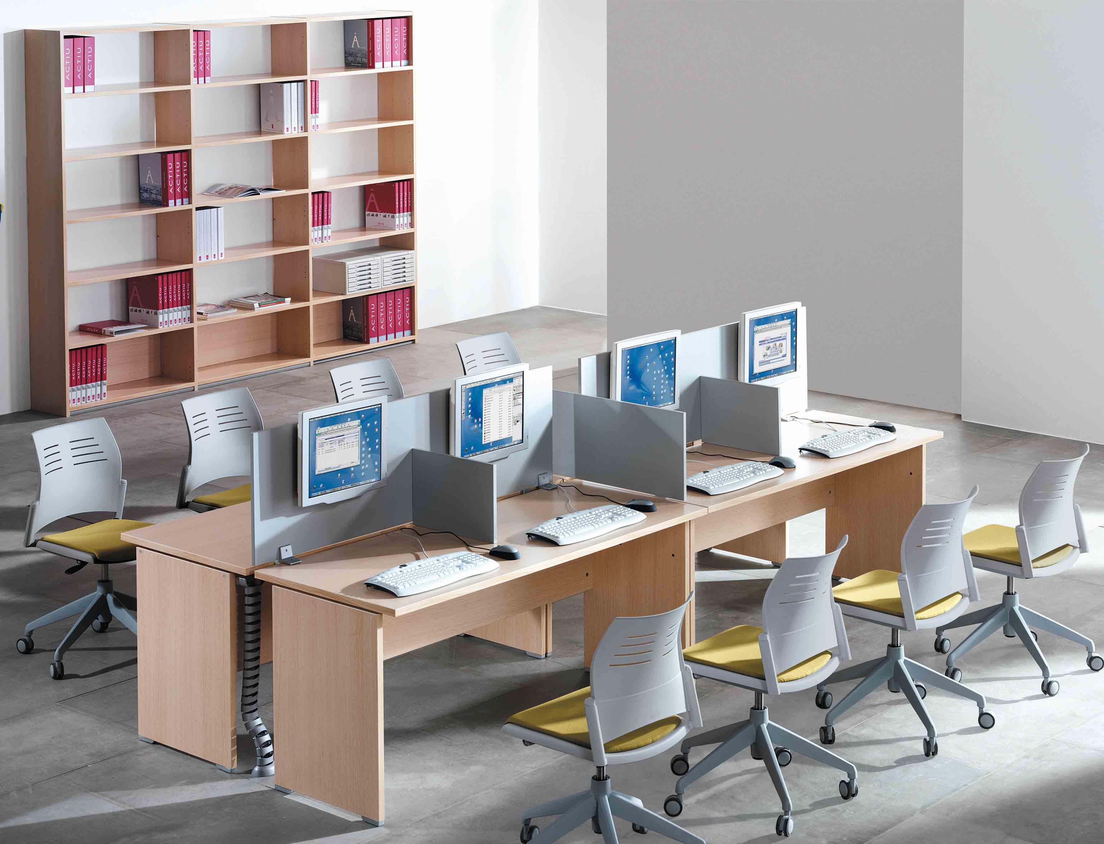 Mesa Call Center - Telemarketing   Muebles de oficina Spacio
