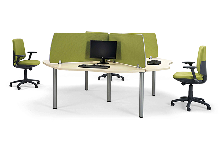 Mesa call center listado | Muebles de oficina Spacio