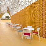 Mesa de reuniones Tabula Plate con Wing acolchada | Muebles de oficina Spacio