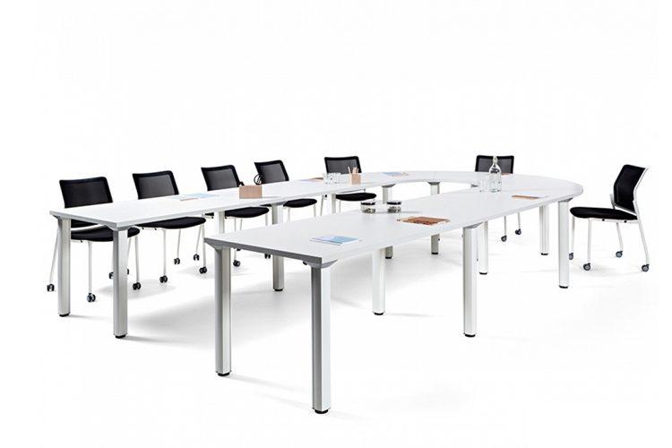 Mesa despacho Cool C300-C500 listado | Muebles de oficina Spacio