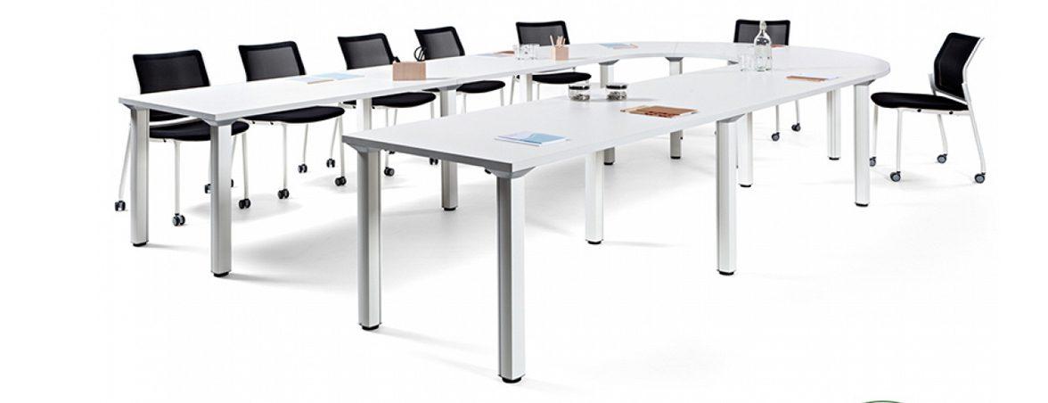 Mesa despacho Cool C300 - C500 portada | Muebles de oficina Spacio