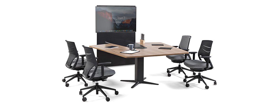 Mesa elevable Power portada | Muebles de oficina Spacio