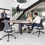 Mesa elevable Power videoconferencia | Muebles de oficina Spacio