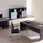 Mesa oficina Arco con mesa auxiliar | Muebles de oficina Spacio