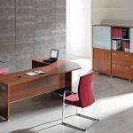 Mesa oficina Arco esquina chaflán | Muebles de oficina Spacio