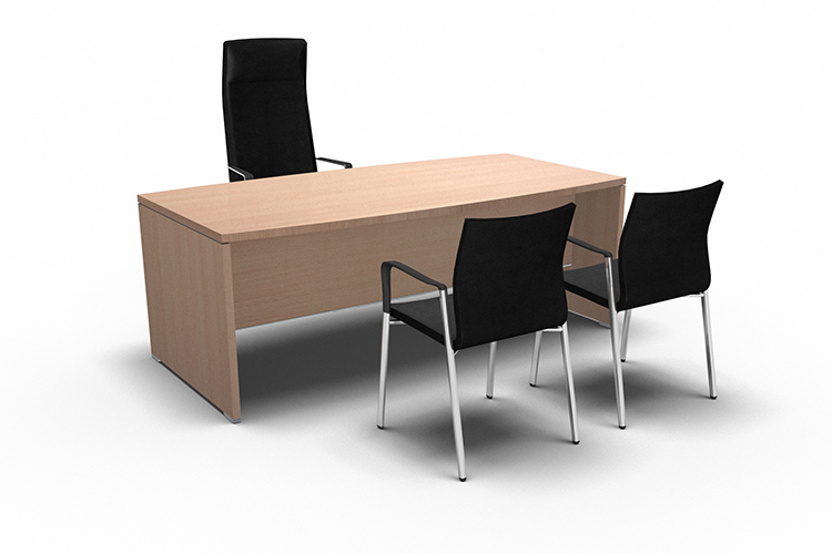 Mesa oficina Arco listado | Muebles de oficina Spacio