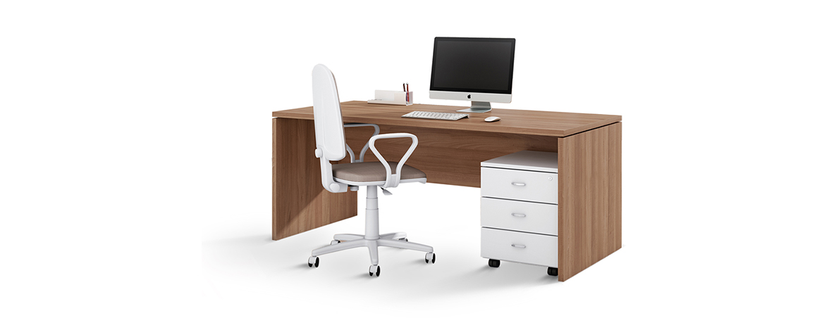 Mesa oficina Serie Punto 6 portada | Muebles de oficina Spacio