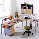 Mesa para oficina Dynamic en L | Muebles de oficina Spacio