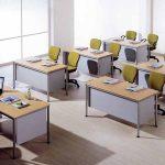 Mesa para oficina Dynamic formación | Muebles de oficina Spacio