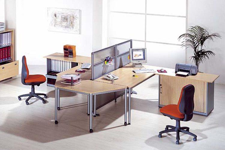 Mesa para oficina Dynamic listado | Muebles de oficina Spacio