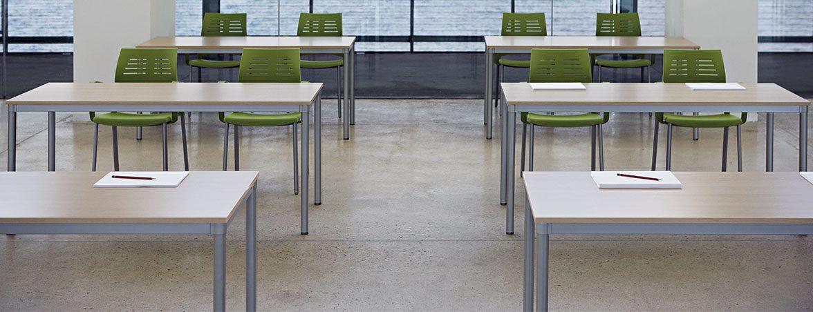 Mesa para oficina Dynamic portada | Muebles de oficina Spacio