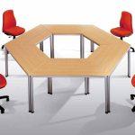 Mesa para oficina Dynamic reuniones informales | Muebles de oficina Spacio