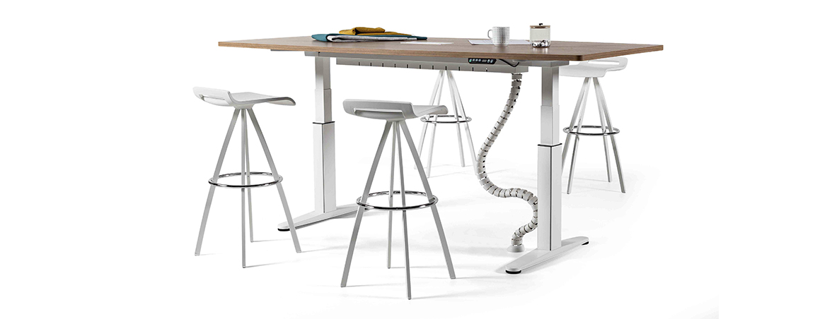 Mesa regulable Mobility portada | Muebles de oficina Spacio