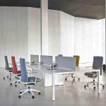 Mesa reuniones Prisma puesto operativo | Muebles de oficina Spacio