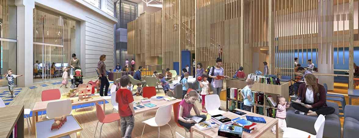 Mesas de biblioteca infantiles | Muebles de oficina Spacio