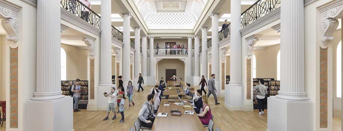 Mesas de biblioteca sala de lectura | Muebles de oficina Spacio