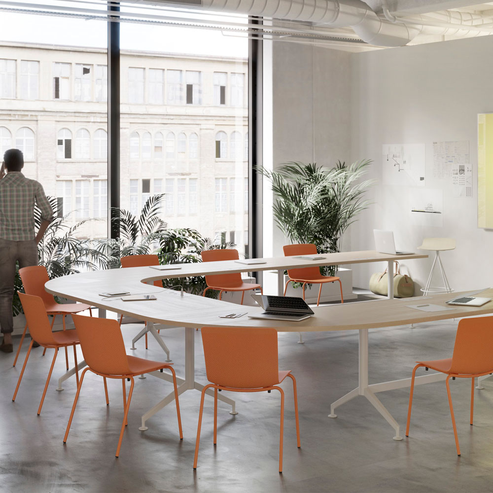 Mesas de despacho drone muebles de oficina spacio - Mesas de despacho ...
