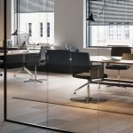 Mesas de despacho Drone reunión | Muebles de oficina Spacio