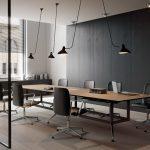 Mesas de despacho Drone mesa de juntas | Muebles de oficina Spacio