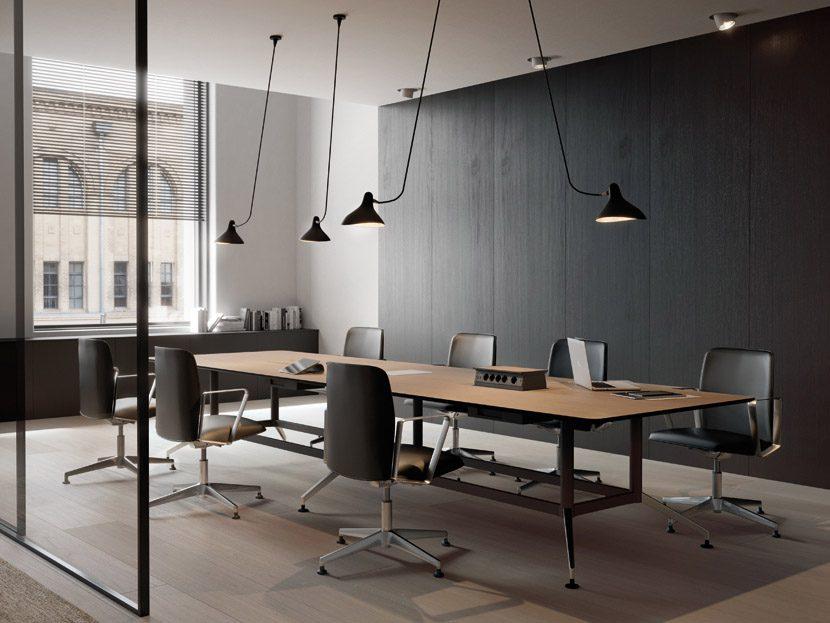 Mesas de despacho drone muebles de oficina spacio for Muebles despacho baratos