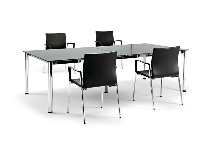 Mesas de escritorio Cool E100 listado | Muebles de oficina Spacio