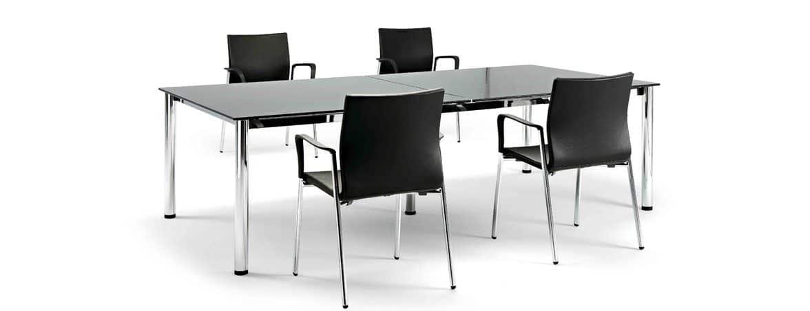 Mesas de escritorio Cool E100 portada | Muebles de oficina Spacio