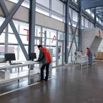 Mesas de escritorio Cool E100 trabajar de pie | Muebles de oficina Spacio