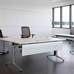Mesa de estudio Trama faldón metálico | Muebles de oficina Spacio