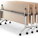 Mesa de estudio Trama madera plegada | Muebles de oficina Spacio