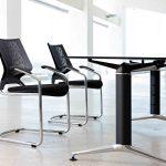 Mesa de estudio Trama pata negra | Muebles de oficina Spacio