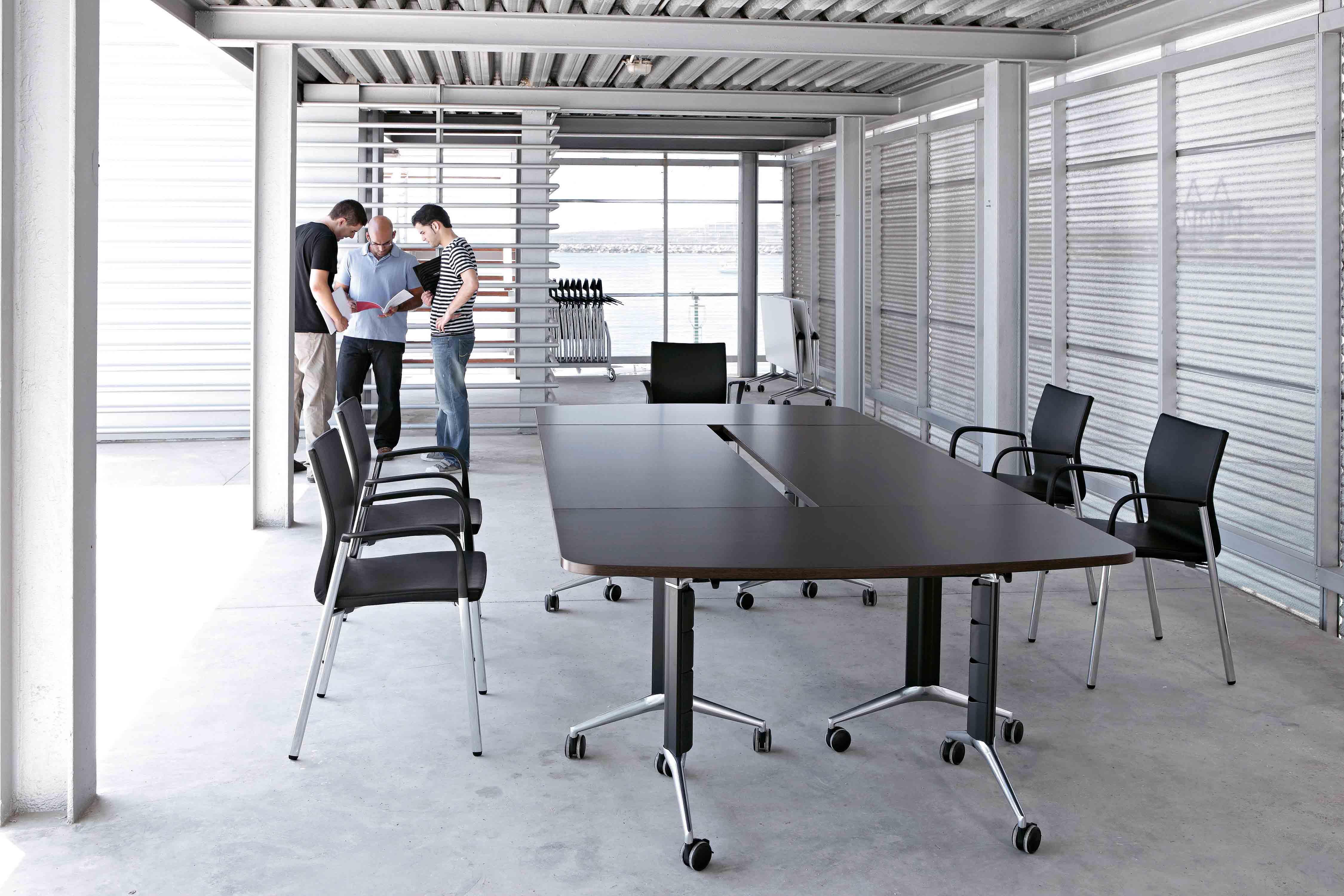 De Oficina Spacio Mesas Muebles Estudio TramaAbatibles 6gf7byvmIY