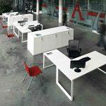 Mesas de oficina Vital Plus puestos | Muebles de oficina Spacio