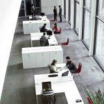 Mesas de oficina Vital Plus puestos operativos | Muebles de oficina Spacio