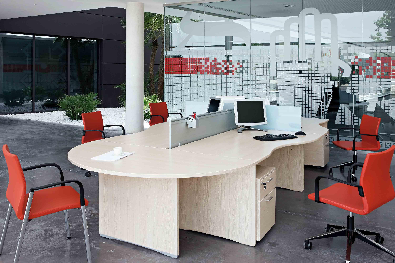 Mesas escritorio Ofimat | Adaptada para el trabajo | Muebles de ...