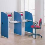 Mesas escritorio Ofimat dos puestos | Muebles de oficina Spacio