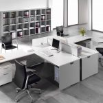 Mesas escritorio Ofimat en L | Muebles de oficina Spacio