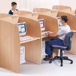 Mesas escritorio Ofimat puestos | Muebles de oficina Spacio
