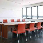 Mesas escritorio Ofimat sala reunión | Muebles de oficina Spacio