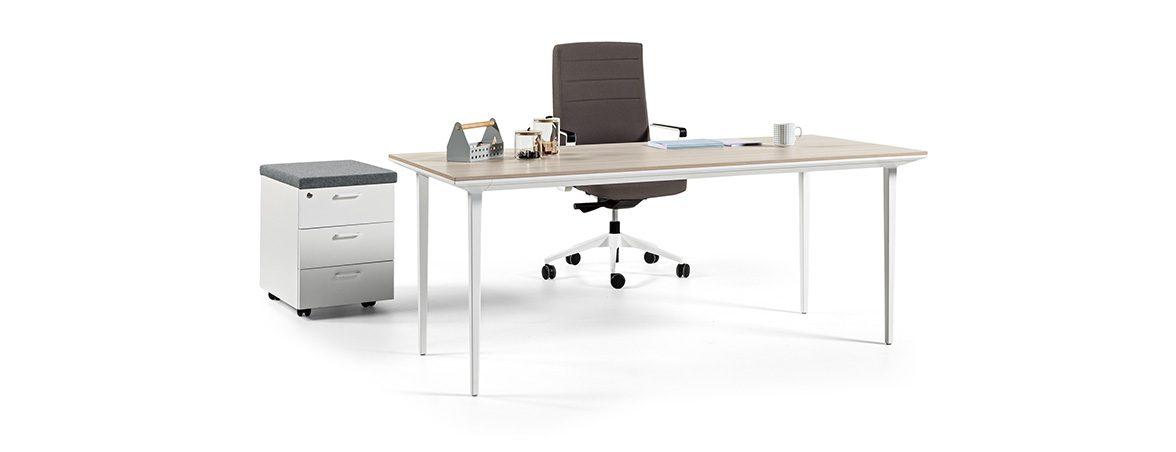 Mesas operativas Longo portada | Muebles de oficina Spacio