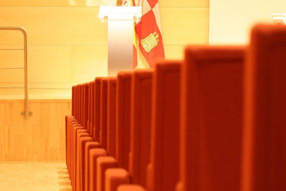 Auditorio Cortes CyL detalle butacas | Muebles de oficina Spacio